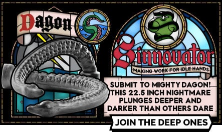 Sinnovator Dagon Depth Training Dildo