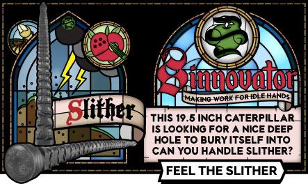 Sinnovator Slither Depth Training Dildo