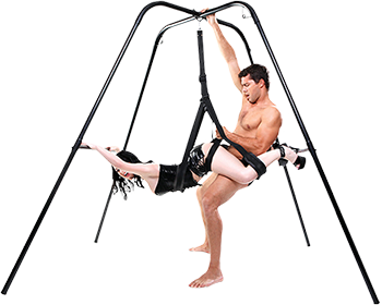 Fetish Fantasy Sex Swing & Frame Set