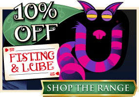 10% off Fisting Toys and Lubes