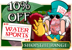 10% off Watersports, Wet & Messy