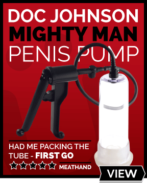 Mighty Man Trigger Penis Pump