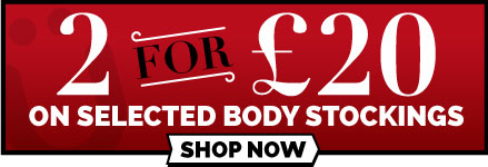 2 for £20 on Selected Bodystockings