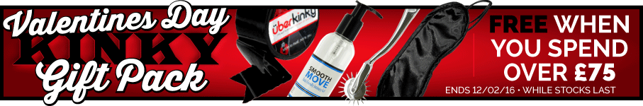 Free UberKinky Gift Pack when you spend over £75