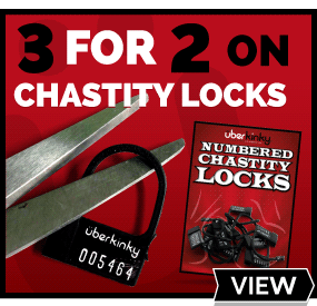 3 for 2 on UberKinky Branded Temporary Chastity Locks