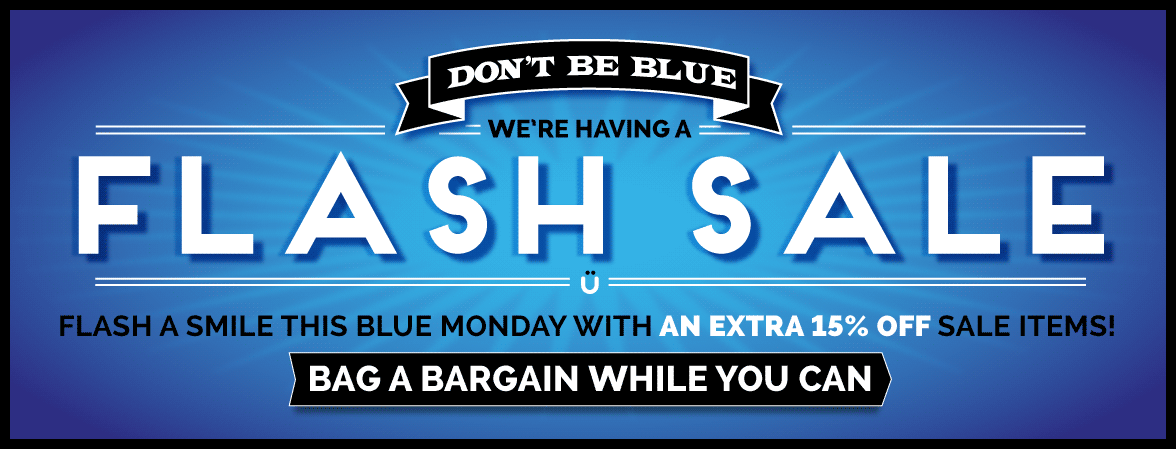 15% Off For Blue Monday